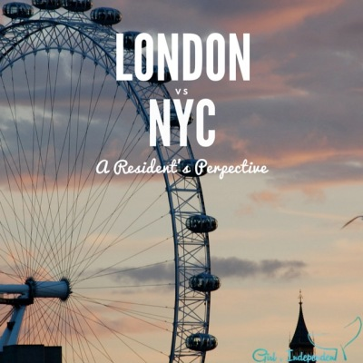 London vs New York – the city-off!