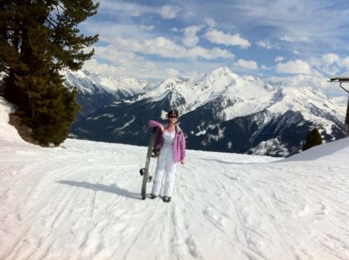 Girl, Snowboarder