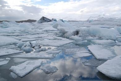 The Iceberg lake