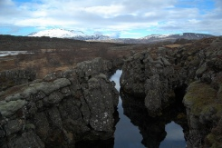 No Man's Land! Between the tectonic plates