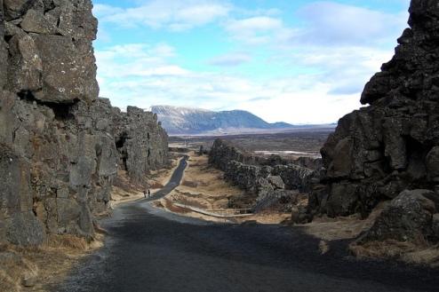 Þingvellir - between the plates