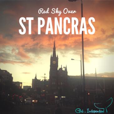 St Pancras Sunset