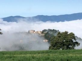 Preggio in the clouds
