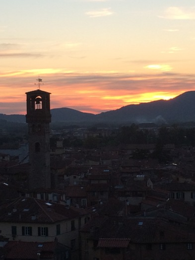 Sunset from Guinigi Torre