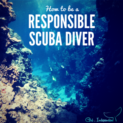 How to be an eco-friendly, responsible scuba diver