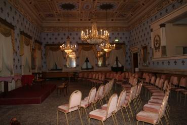 Inside the casino, Bagni di Lucca