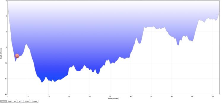 Diving the Kuredu Express Dive Profile