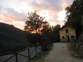 Sunset at Pian Di Fiume