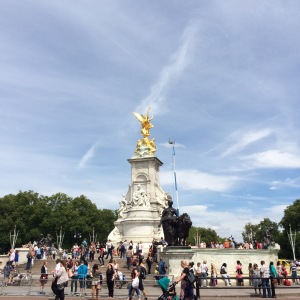Victoria Memorial outside Buckingham Palace