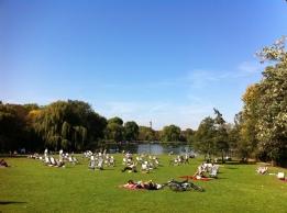 Hyde Park Boating lake