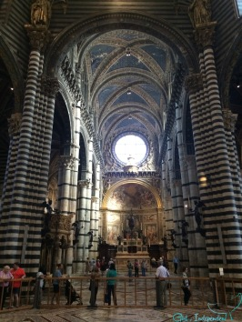 Inside the Basilica Sienna