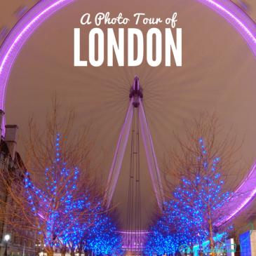PHOTO TOUR OF LONDON