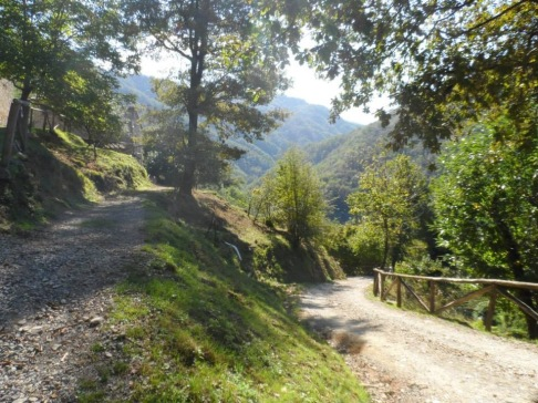 There are some gorgeous walks around Pian di Fiume