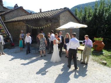 Pian di Fiume Tuscan wedding
