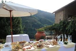 Pian Di Fiume wedding antipasti