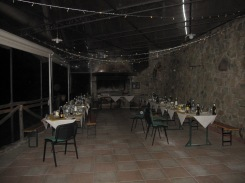 Pian di fiume wedding tables