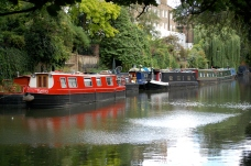 Regents Canal boats