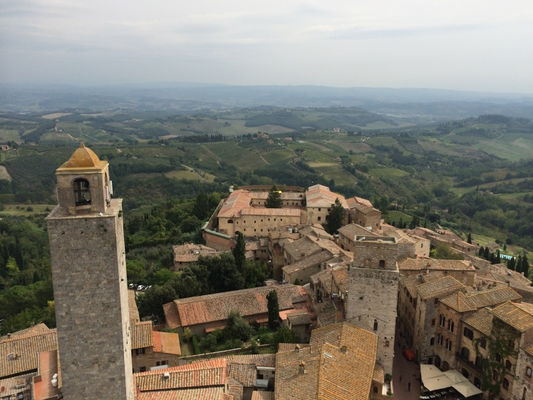 San Gimignano view from Torre Grosso