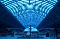St Pancras roof
