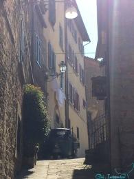 Steep Cortona streets
