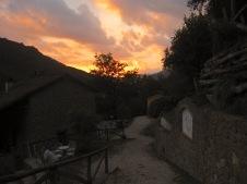 Sunset Pian di Fiume Bagni di Lucca