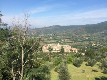 Tuscan view from Cortona