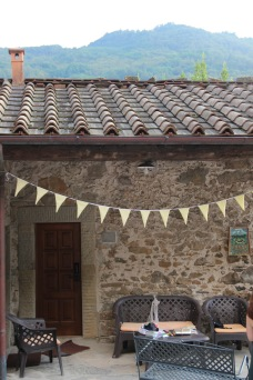 Tuscan wedding bunting