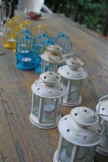 Tuscan wedding lanterns