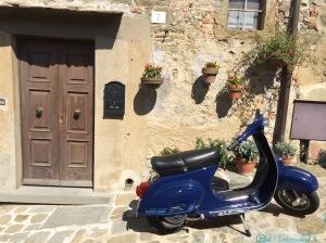 Typical Italian village street