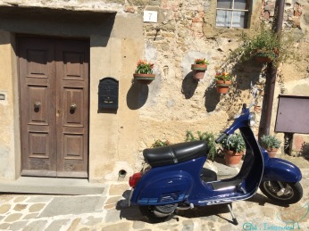 Typical Italian village street