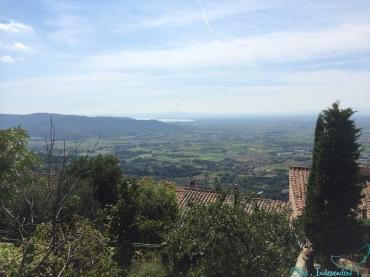 View from Cortona