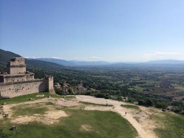 View from the Rocca Maggiore