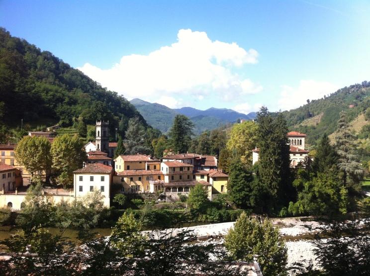 View over Bagni di Lucca